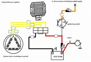 Yamaha 3 Wire Stator Wiring Diagram