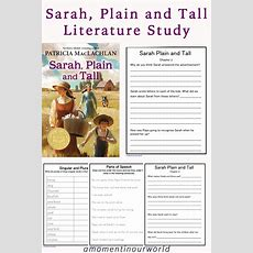 Sarah, Plain And Tall Literature Study  Simple Living Creative Learning