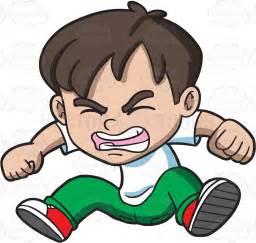 Angry Cartoon Boys Clip Art