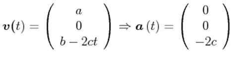 kinematik  drei dimensionen
