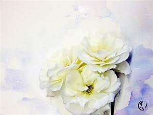 Aquarell Blumen Malen : malen zeichnen lernen malen lernen aquarellmalerei rosen malen in aquarell negativmalerei ~ Frokenaadalensverden.com Haus und Dekorationen