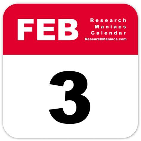 days birthday february