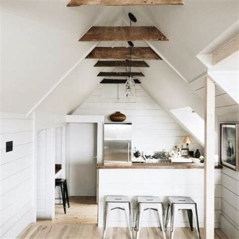 edgy attic kitchen design ideas comfydwellingcom