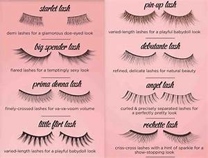 Different Styles Of False Lashes And How To Apply Them