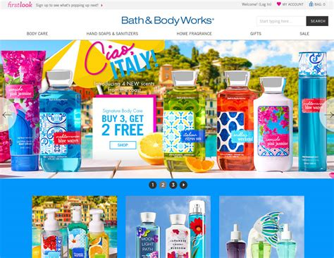 And Bath Collection Website by Bath Works Ciao Italy Fragrance Collection The