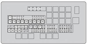 Toyota Land Cruiser  2010 - 2011  - Fuse Box Diagram