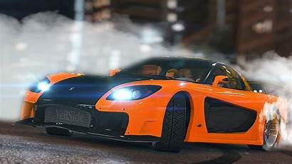 Drift Tokyo Rx7 Han Furious Fast Scene