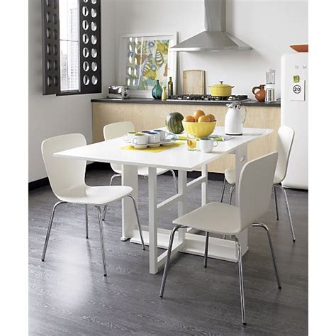 span white gateleg dining table in dining kitchen tables