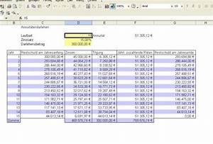 Immobilie Finanzieren Rechner : kostenloses excel tool kreditrechner berechnung annuit tendarlehen ratendarlehen ~ Frokenaadalensverden.com Haus und Dekorationen