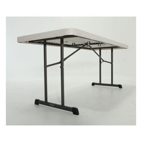 lifetime 6ft folding table portable 6 ft foot 72 white