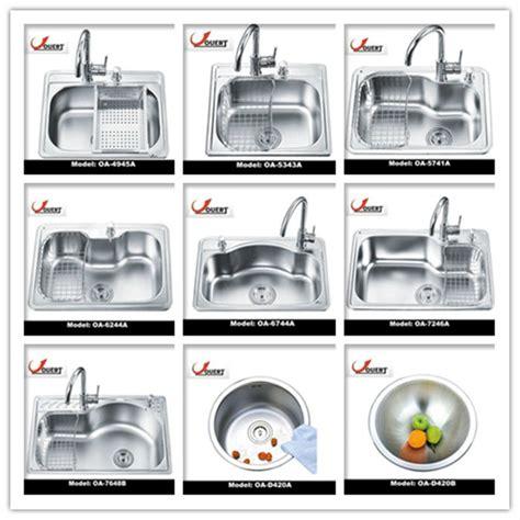 kitchen sink styles pictures oa 5741 stainless steel single bowl sink italian kitchen