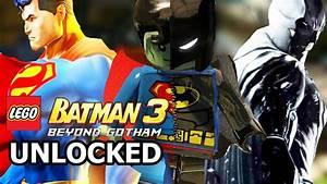 LEGO Batman 3: Beyond Gotham - How to Unlock Composite ...