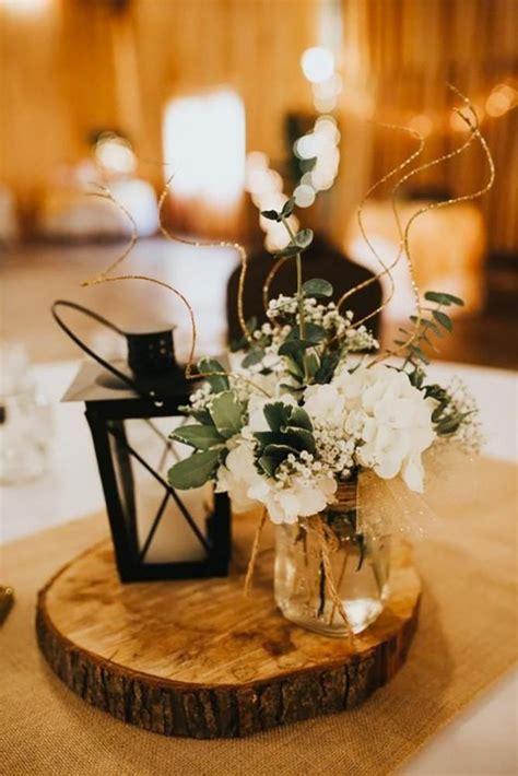 42 Romantic Rustic Wedding Lanterns Lantern centerpiece