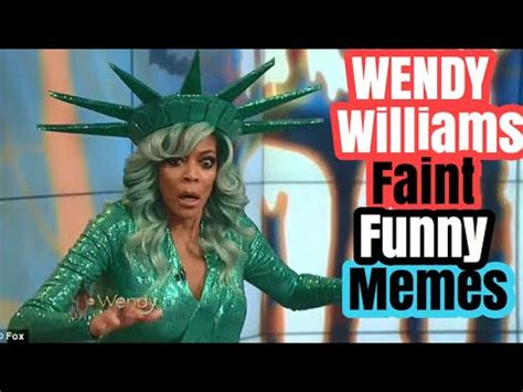 Wendy Williams Memes - wendy williams faint reaction memes wendys williams collapse live funny memes youtube