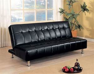black futon sofabed With black sofa bed for sale