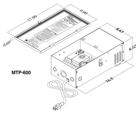 Low Voltage Landscape Wiring Specification by Multitap Mtp Professional Landscape Lighting Transformer