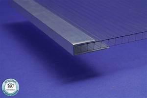 Stegplatten Für Gewächshaus : stirnseitenabschlussprofil u aus aluminium f r stegplatten ~ Lizthompson.info Haus und Dekorationen