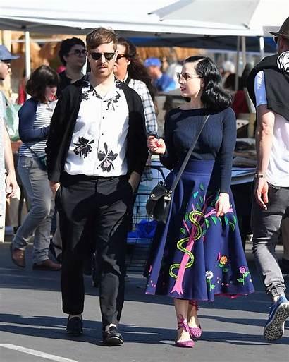 Dita Teese Boyfriend Adam Angeles Shopping Gotceleb