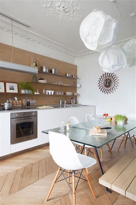 cuisine appartement cuisine d 39 un appartement haussmannien à déco