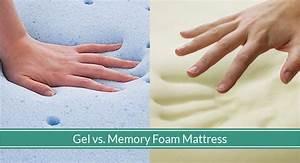 which is better gel or memory foam mattress top picks