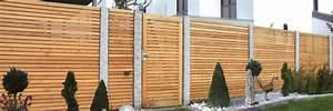 Günstige Sichtschutzzäune Aus Holz : holz sichtschutzzaun holzland hundshammer ~ Whattoseeinmadrid.com Haus und Dekorationen