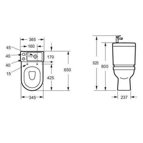 porte toilette dimension dimension d un wc suspendu obasinc