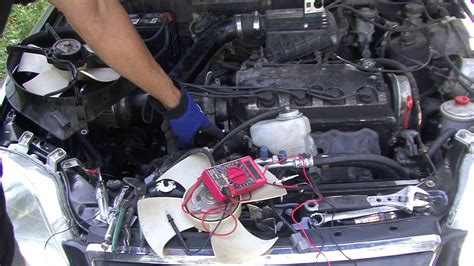 03 Civic Si Engine Wire Harnes Fan by Honda How To Testing Your Fans On Your Honda And Civic