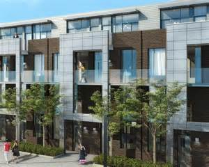 townhouse designs and floor plans streetcar developments releases towns at the carlaw toronto