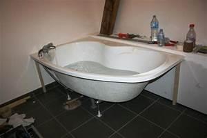 Comment Installer Une Baignoire : pose baignoire d angle ~ Dailycaller-alerts.com Idées de Décoration