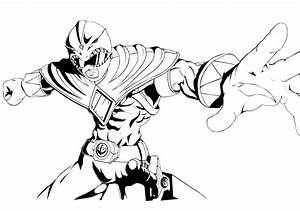 Tommy Green Mighty Morphin Power Ranger Coloring Pages ...