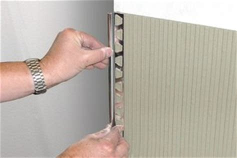 how to install schluter trim schluter rondec finishing edge protection profiles solid brass