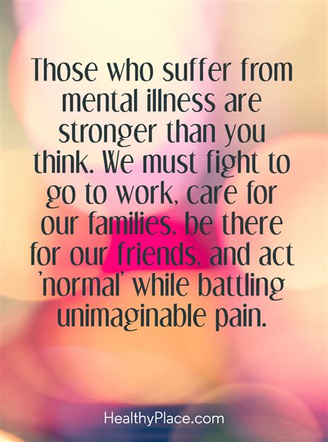 Mental Health Quotes Quote On Mental Health Stigma Those Who Suffer From