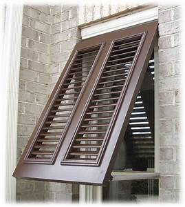Exterior, Window, Shutters, Decorating, The, Architecture, Of, Your, Home