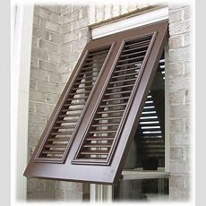 Exterior Window Shutters Decorating The Architecture Of