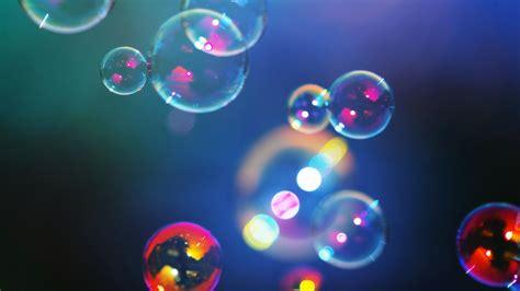Floating Bubbles Bokeh Wallpaper