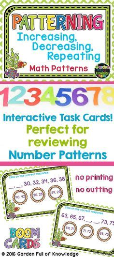 number patterns images number patterns math