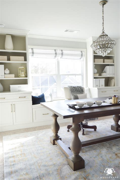 One Room Challenge Home Office Makeover Reveal  Kelley Nan