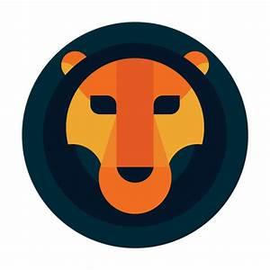 Circle lion logo safari - Transparent PNG & SVG vector