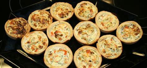 ei bieslook bloem muffin quiche met rivierkreeftjes en zalm keukencentrum texel