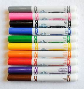 Crayola Ultra-Clean Washable Markers Color MAX: What's ...
