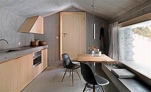 Holz Und Raum : architektenh user beton und holz f r den innenausbau ~ A.2002-acura-tl-radio.info Haus und Dekorationen