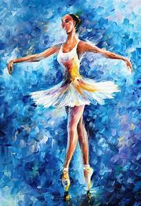 Ballet Through Leonid Afremov's Strokes | 4ever21christina