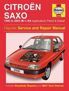 Haynes Manual Citroen Saxo Petrol  U0026 Diesel  96