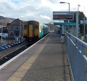 Barry Island Train At Aberdare Station Jaggery