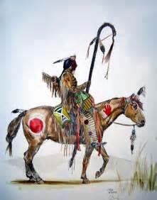 Native American Horse Drawings