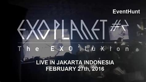exo jakarta 160227 exo luxion jakarta indonesia opening overdose