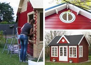 Gartenhaus Im Schwedenstil : gartenhaus streichen schutz pflege durch farbbehandlung ~ Markanthonyermac.com Haus und Dekorationen