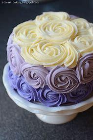 Purple Rose Cake