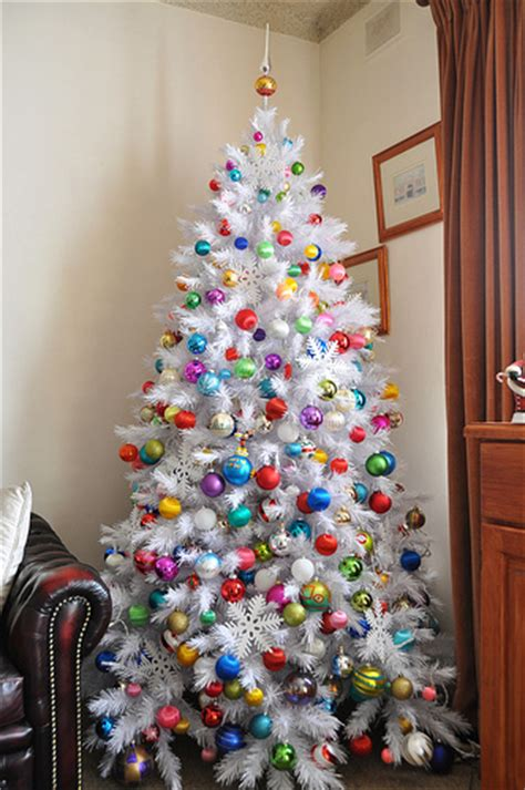 colorful ornament christmas tree pictures
