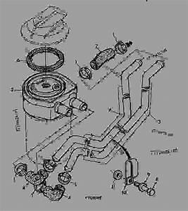 5921 Oil Filter -  U5f15 U64ce Uff0cpowertech John Deere 3029df180 - Engine  Powertech